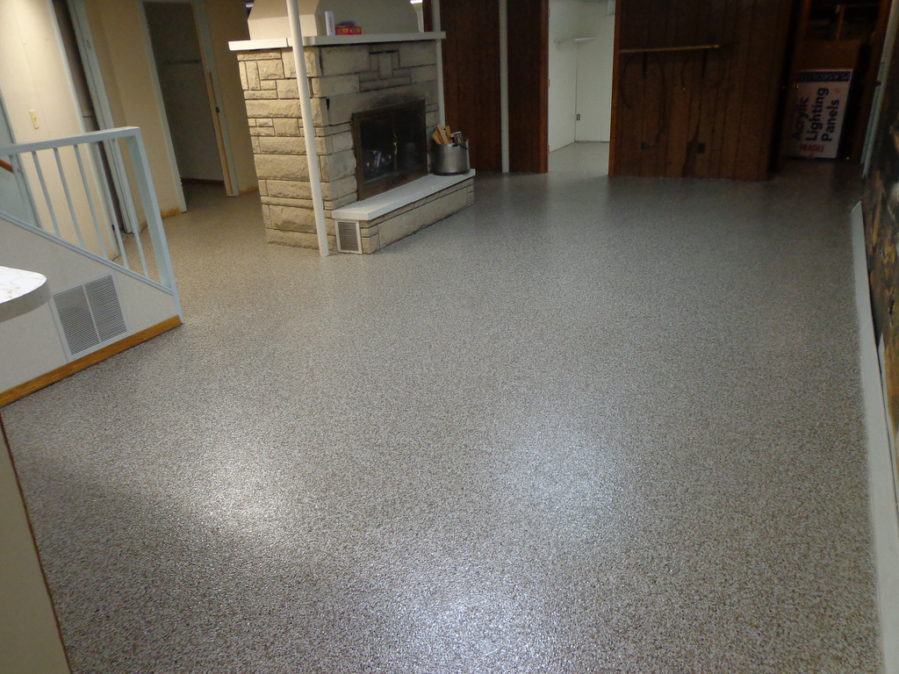 garage floor coating ideas - Basement Flooring Options What Not and What to Use