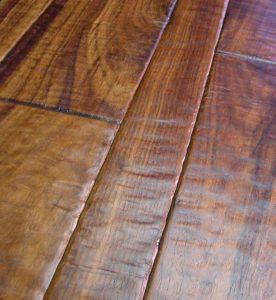 This Type Of Hardwood Floor Mimics The Look Reclaimed Wood That Has Been Worn